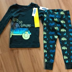 NWT old navy 18-24 month pajama set